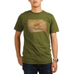 Cyprus Flag Organic Men's T-Shirt (dark)