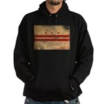 District of Columbia Flag Hoodie (dark)