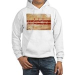 District of Columbia Flag Hooded Sweatshirt