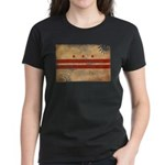 District of Columbia Flag Women's Dark T-Shirt