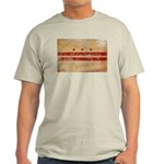 District of Columbia Flag Light T-Shirt