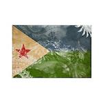 Djibouti Flag Rectangle Magnet (100 pack)