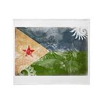 Djibouti Flag Throw Blanket