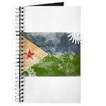 Djibouti Flag Journal