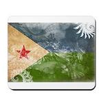 Djibouti Flag Mousepad