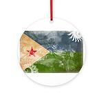 Djibouti Flag Ornament (Round)