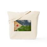Djibouti Flag Tote Bag