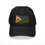 Djibouti Flag Black Cap