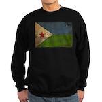 Djibouti Flag Sweatshirt (dark)
