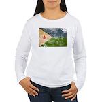 Djibouti Flag Women's Long Sleeve T-Shirt
