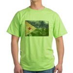 Djibouti Flag Green T-Shirt