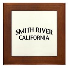 Smith River California Framed Tile