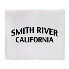 Smith River California Throw Blanket