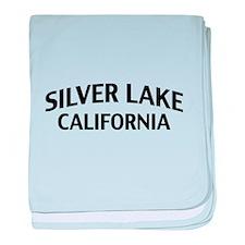 Silver Lake California baby blanket