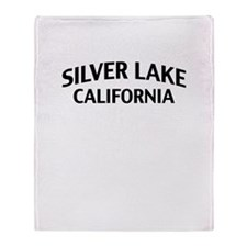 Silver Lake California Throw Blanket