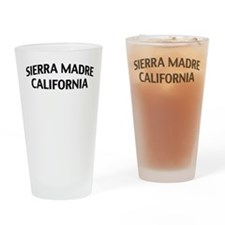 Sierra Madre California Drinking Glass