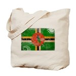 Dominica Flag Tote Bag