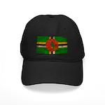 Dominica Flag Black Cap