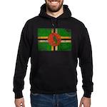 Dominica Flag Hoodie (dark)