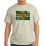 Dominica Flag Light T-Shirt