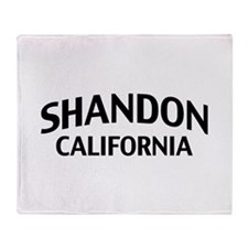 Shandon California Throw Blanket