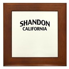 Shandon California Framed Tile