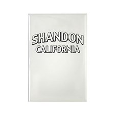Shandon California Rectangle Magnet