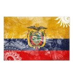 Ecuador Flag Postcards (Package of 8)