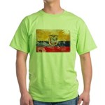 Ecuador Flag Green T-Shirt