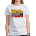 Ecuador Flag Women's T-Shirt