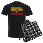 Ecuador Flag Men's Dark Pajamas