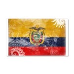 Ecuador Flag Car Magnet 20 x 12