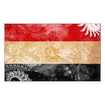 Egypt Flag Sticker (Rectangle 10 pk)