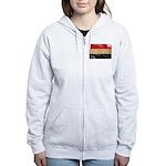 Egypt Flag Women's Zip Hoodie