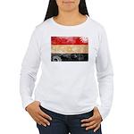 Egypt Flag Women's Long Sleeve T-Shirt