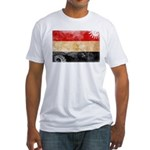 Egypt Flag Fitted T-Shirt
