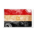 Egypt Flag Car Magnet 20 x 12