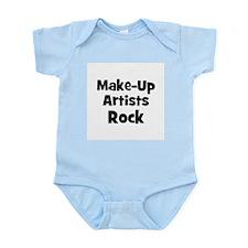 MAKE-UP ARTISTS  Rock Infant Creeper