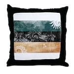 Estonia Flag Throw Pillow