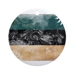 Estonia Flag Ornament (Round)