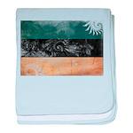 Estonia Flag baby blanket