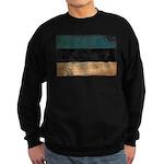 Estonia Flag Sweatshirt (dark)