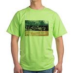 Estonia Flag Green T-Shirt
