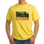 Estonia Flag Yellow T-Shirt