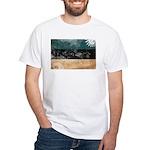 Estonia Flag White T-Shirt
