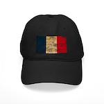 France Flag Black Cap