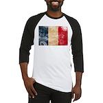 France Flag Baseball Jersey