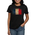 France Flag Women's Dark T-Shirt