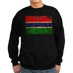 Gambia Flag Sweatshirt (dark)