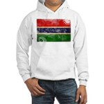 Gambia Flag Hooded Sweatshirt